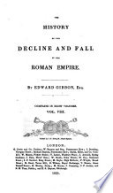 The History of the Decline and Fall of the Roman Empire  8 Book PDF