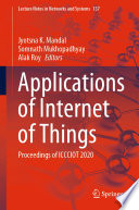 Applications of Internet of Things