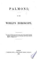 Palmoni Or The World S Horoscope