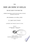 The Poets and Poetry of Scotland  From Thomas Campbell to Marquis of Lorne