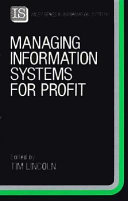 Managing Information Systems for Profit Book
