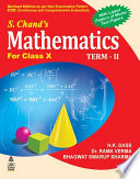 S.Chand'S Mathematics For Class X Term -II