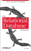 The Relational Database Dictionary