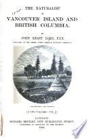 The Naturalist in Vancouver Island and British Columbia