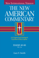 The New American Commentary - Isaiah 40-66