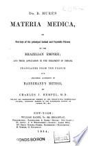 Dr B. Mure's Materia Medica