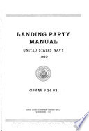 Landing Party Manual, United States Navy