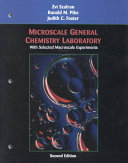 Microscale General Chemistry Laboratory