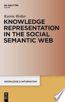 Knowledge Representation in the Social Semantic Web Book