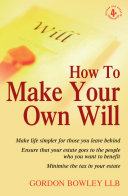 How To Make Your Own Will 4th Edition