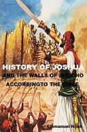 History of Joshua [Pdf/ePub] eBook