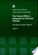 The Home Office's response to terrorist attacks