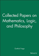 Collected Papers on Mathematics  Logic  and Philosophy