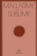 Mallarme and the Sublime Pdf