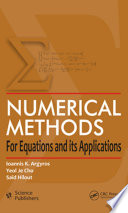 Numerical Methods for Equations and its Applications Book