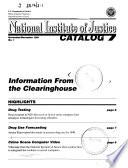 National Institute of Justice Catalog