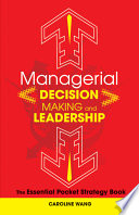 Managerial Decision Making Leadership