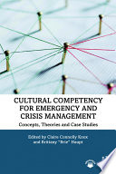 Cultural Competency for Emergency and Crisis Management Book