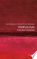 Cover of Populism: A Very Short Introduction