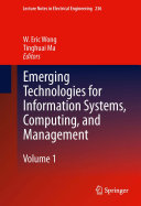 Emerging Technologies for Information Systems, Computing, and Management Pdf/ePub eBook