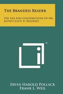 The Brandeis Reader Book PDF
