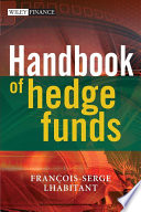 Handbook Of Hedge Funds Book PDF
