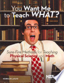 You Want Me to Teach What?