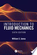 Introduction to Fluid Mechanics  Sixth Edition