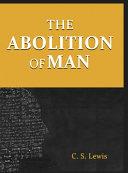 Pdf The Abolition of Man