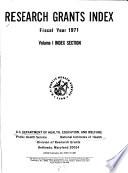 Research Grants Index Book PDF