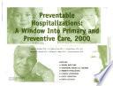 Preventable Hospitalizations