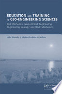 Education and Training in Geo Engineering Sciences