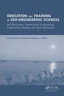 Education and Training in Geo-Engineering Sciences [Pdf/ePub] eBook