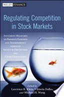 Regulating Competition in Stock Markets Book