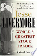 Jesse Livermore Book