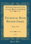 Technical Book Review Index Vol 2