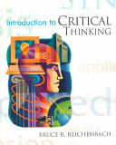 Cover of Introduction to Critical Thinking