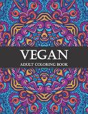 Vegan Adult Coloring Book