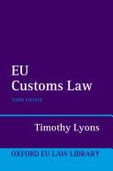 EU Customs Law