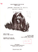 Ground Tracking Of Arctic Grizzly Bears PDF
