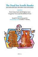 The Dead Sea Scrolls Reader