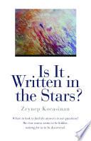 Is It Written In The Stars  Book PDF