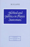 Method and Politics in Plato's Statesman