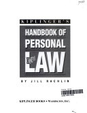 Kiplinger s Handbook of Personal Law