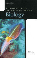 A Short Guide to Writing about Biology and Reading Primary Literature