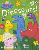 Peppa Pig  Dinosaurs  Sticker Book