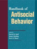 Handbook of Antisocial Behavior Book