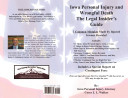 Iowa Personal Injury Accidents -- the Insider's Guide