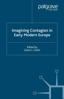 Pdf Imagining Contagion in Early Modern Europe Telecharger