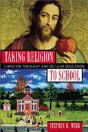 Taking Religion to School Book PDF